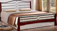 Кровать Флоренс 160х200 каштан  (Domini TM)