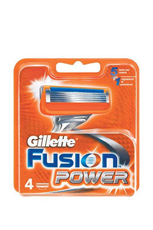 Gillette Fusion Power (4) змінний Картридж IAC (Colombia)