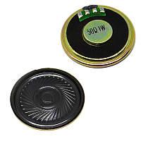 Динамик 1Вт 50(Oм) круглый 40мм (громкоговоритель) 1шт