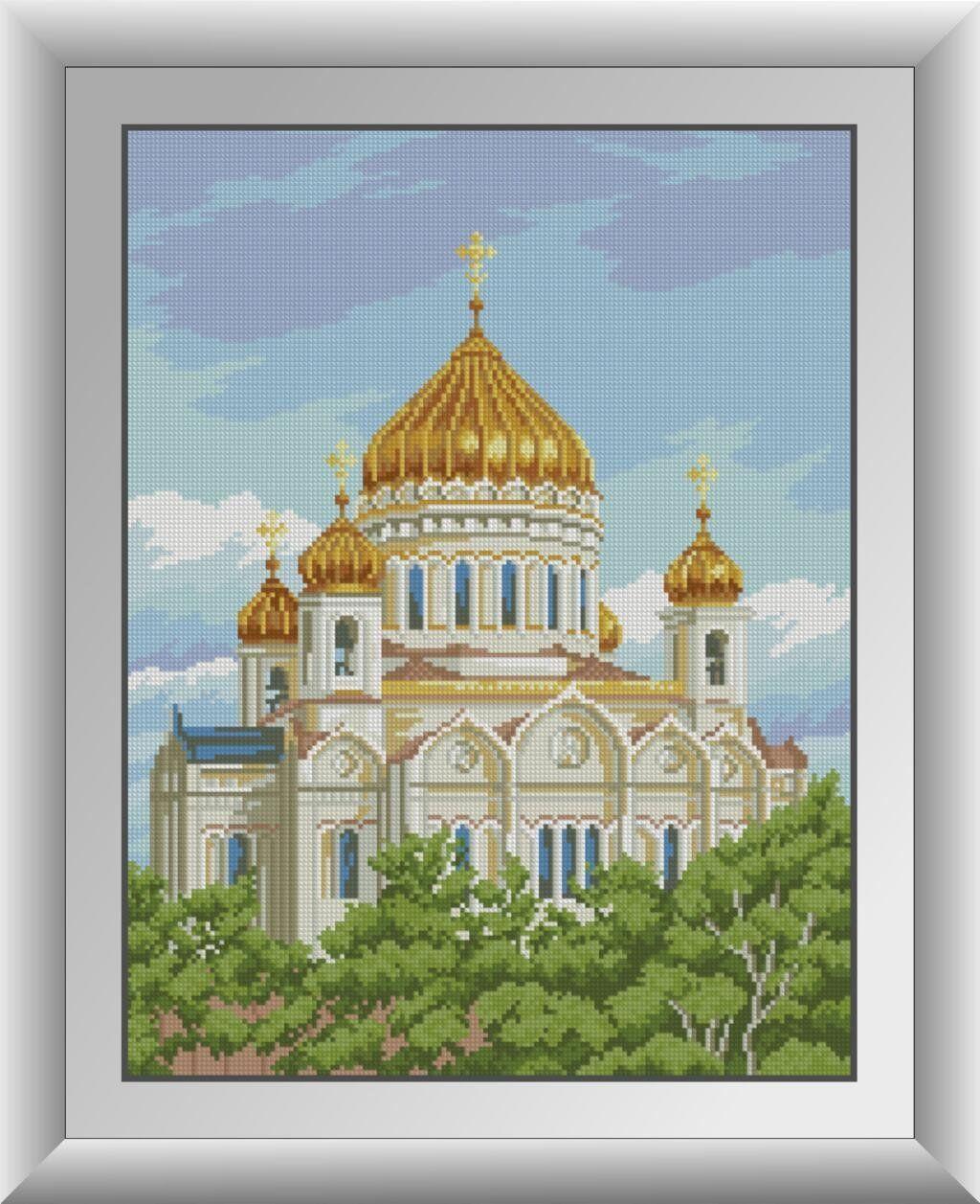 30199 Набор алмазной мозаики Храм Христа Спасителя