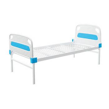 Кровать больничная ЛЛ-2 со съемными пластиковыми быльцами