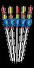Поплавок Cralusso Spirit Fiber Glass (1016) 0.75 г