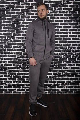 Спортивный костюм Spirited Hot Intruder Grey - утепленный флисом + Подарок, фото 3