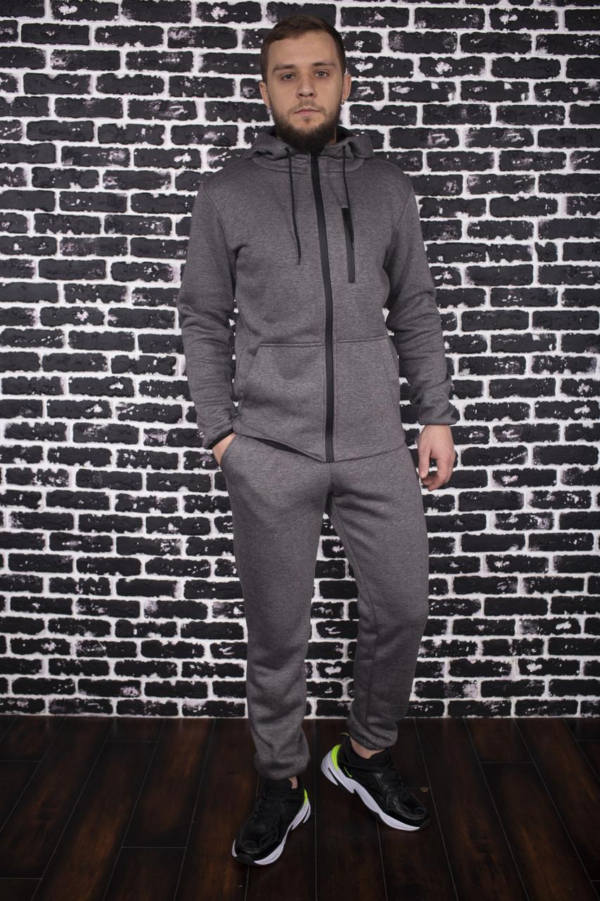 Спортивный костюм Spirited Hot Intruder Grey - утепленный флисом + Подарок