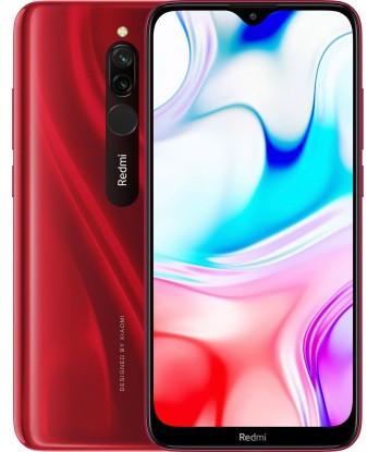 "Смартфон Xiaomi Redmi 8 Red 4/64Gb, 12+2/8Мп, 8 ядер, 2sim, экран 6.22"" IPS, 5000mAh, Snapdragon 439, 4G"