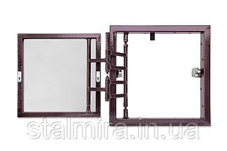 Люк настенный распашной с регулировкой дверцы 200х200х60