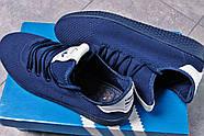 Кроссовки мужские 16242, Adidas Pharrell Williams, темно-синие ( 41 42 43 44 45  ), фото 5