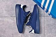 Кроссовки мужские 16242, Adidas Pharrell Williams, темно-синие ( 41 42 43 44 45  ), фото 7