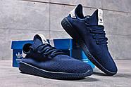 Кроссовки мужские 16242, Adidas Pharrell Williams, темно-синие ( 41 42 43 44 45  ), фото 8
