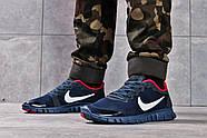 Кроссовки мужские 16252, Nike Free 3.0 (топ ААА), темно-синие ( 40 42 43 44 45  ), фото 2