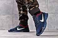Кроссовки мужские 16252, Nike Free 3.0 (топ ААА), темно-синие ( 40 42 43 44 45  ), фото 4