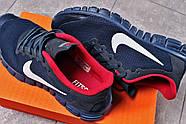 Кроссовки мужские 16252, Nike Free 3.0 (топ ААА), темно-синие ( 40 42 43 44 45  ), фото 5