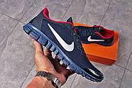 Кроссовки мужские 16252, Nike Free 3.0 (топ ААА), темно-синие ( 40 42 43 44 45  ), фото 6
