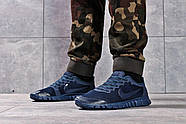 Кроссовки мужские 16254, Nike Free 3.0 (топ ААА), темно-синие ( 41 42 43 44  ), фото 2