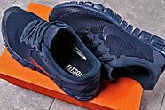 Кроссовки мужские 16254, Nike Free 3.0 (топ ААА), темно-синие ( 41 42 43 44  ), фото 5