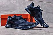Кроссовки мужские 16254, Nike Free 3.0 (топ ААА), темно-синие ( 41 42 43 44  ), фото 8