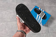 Шлепанцы мужские 16282, Adidas, черные ( 44  ), фото 7