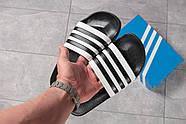Шлепанцы мужские 16282, Adidas, черные ( 44  ), фото 8