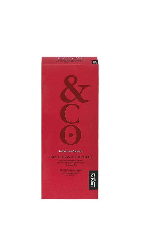 Dikson Ten Emulsion Hair Relaxer Набір: Гель для випрямлення + Нейтралізатор