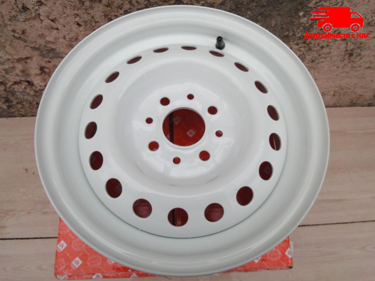 Диск колесный 13Н2х5,0J ВАЗ 2101, 2102, 2103, 2104, 2105, 2106, 2107 белый (в упак.)