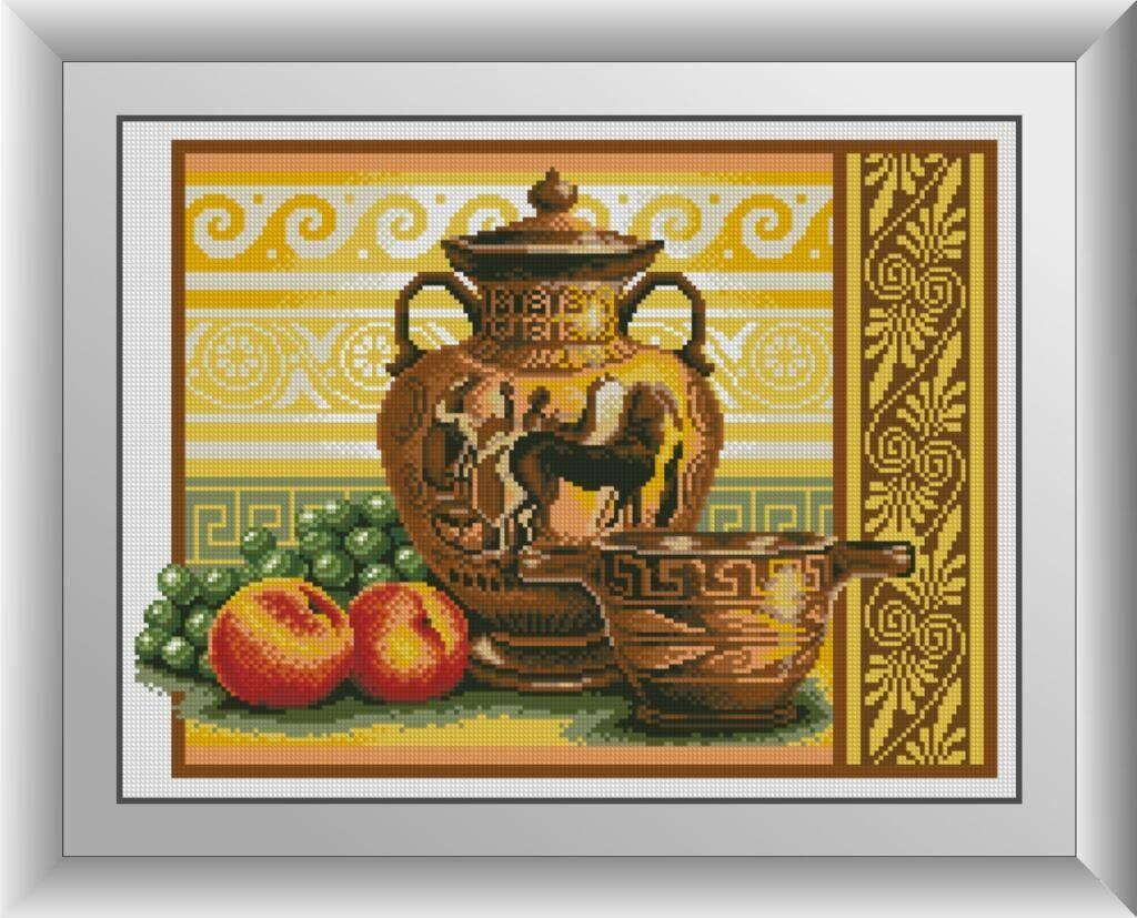 30213 Набор алмазной мозаики Ваза с виноградом
