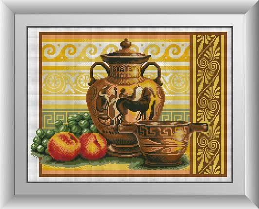 30213 Набор алмазной мозаики Ваза с виноградом, фото 2