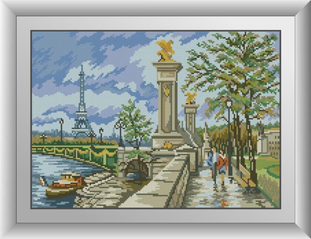 30218 Набор алмазной мозаики Набережная Парижа