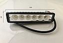 Светодиодная LED фара 18Вт  (светодиоды 3w x6шт), фото 3