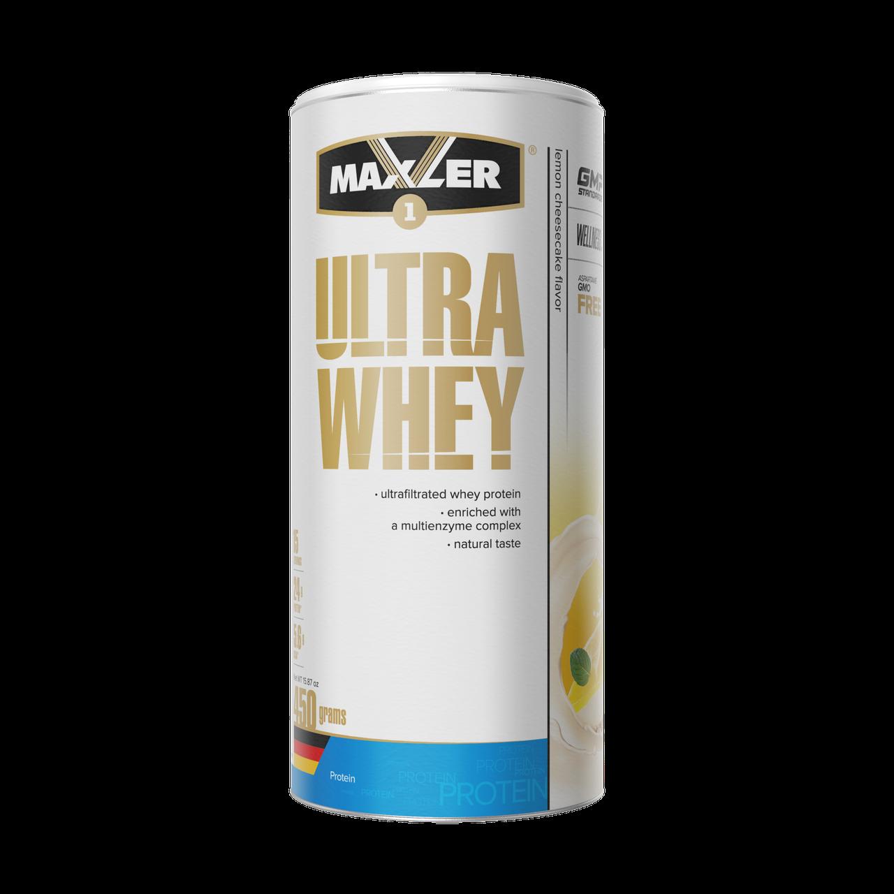 Max_Ultra Whey 450g - lemon cheesecake