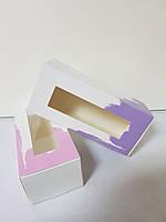 Коробка для Macaron с окошком 14*6*5 см Галетте - - 06860