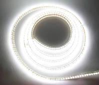 Светодиодная лента 220V SMD3014 120LED IP68 White Econom, фото 1