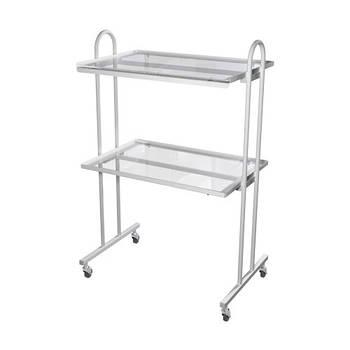 Столики инструментальные СІ-1 (стекло/стекло)