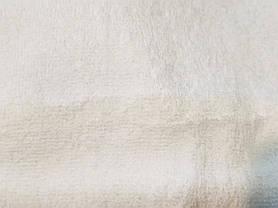 Полотенце махровое 70х140 белое 500 г/м²  Уценка, фото 3