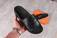 Шлепанцы мужские 16341, Nike, черные ( 41  ), фото 6