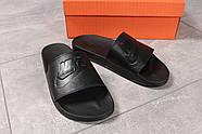 Шлепанцы мужские 16341, Nike, черные ( 41  ), фото 7