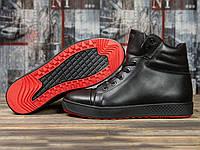 Зимние ботинки  на меху Magnus, черные (31041) размеры в наличии ► [  41 42 43 44 45  ]