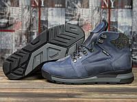 Зимние мужские ботинки 31051, Diesel Denim Division, темно-синие ( 40 42 43 44 45  )