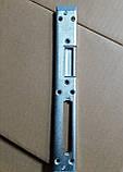 Відповідна планка дверна  Vоrne (13 мм) під роликовий замок ліва/права для ПВХ дверей, фото 2