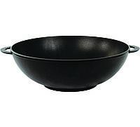 Сковородка-вок (алюминий+тефлон)  4 л./28 см ТМ БИОЛ с двумя литыми ручками