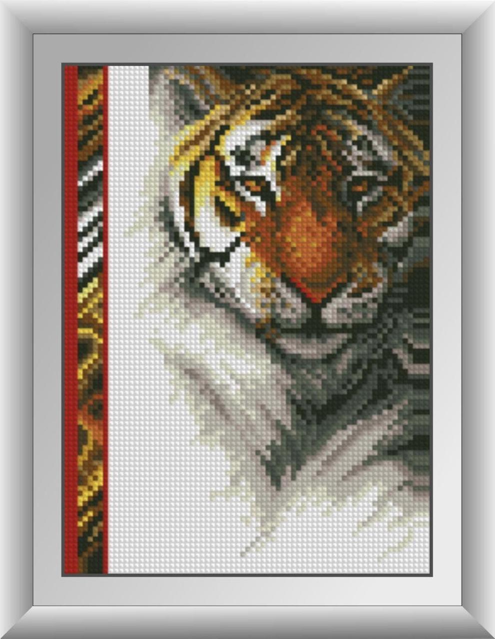 30254 Набор алмазной мозаики Королевский тигр