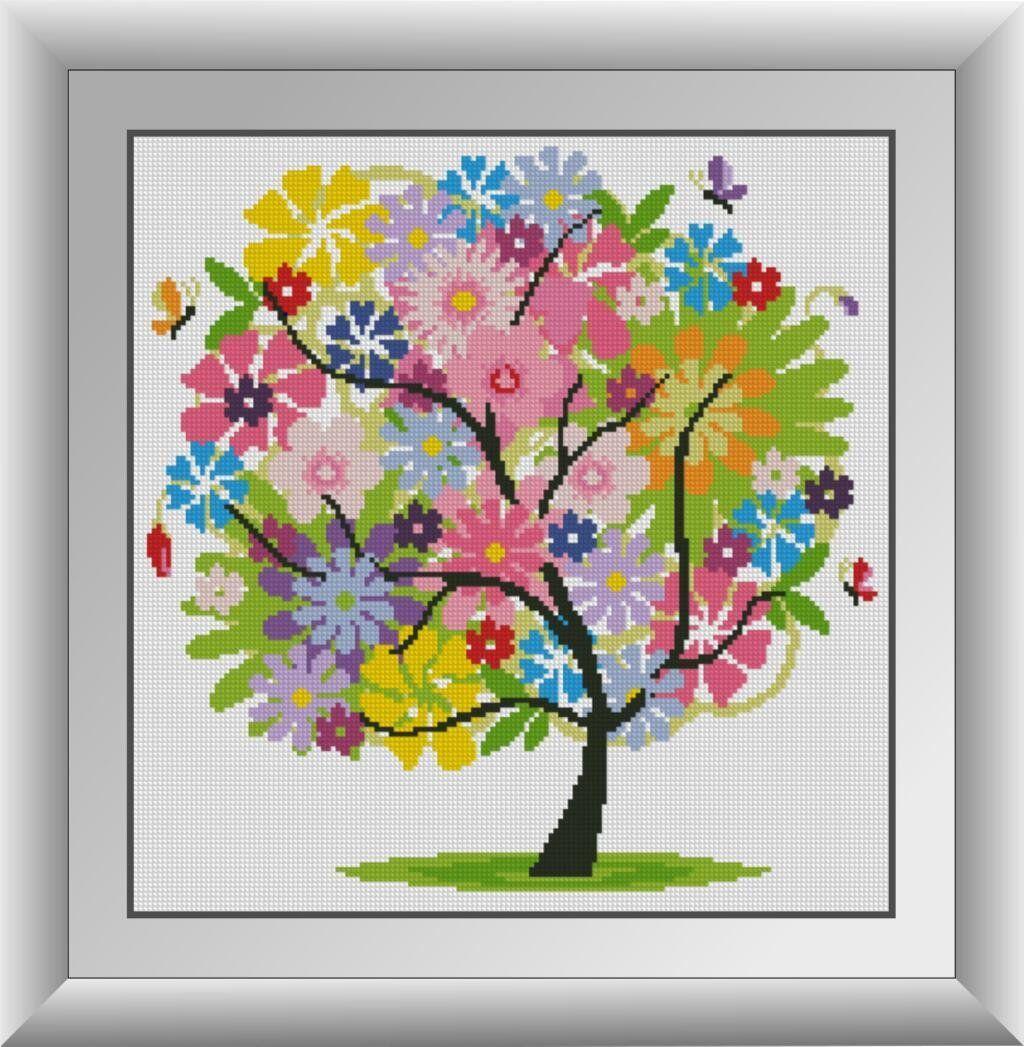 30269 Набор алмазной мозаики Летнее дерево