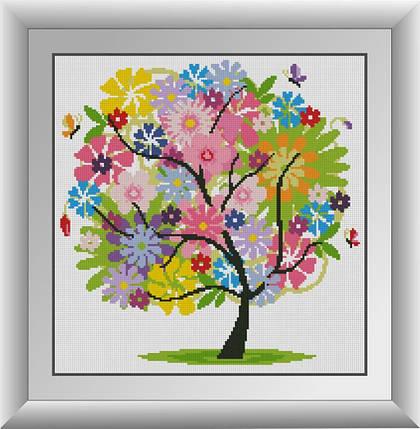 30269 Набор алмазной мозаики Летнее дерево, фото 2