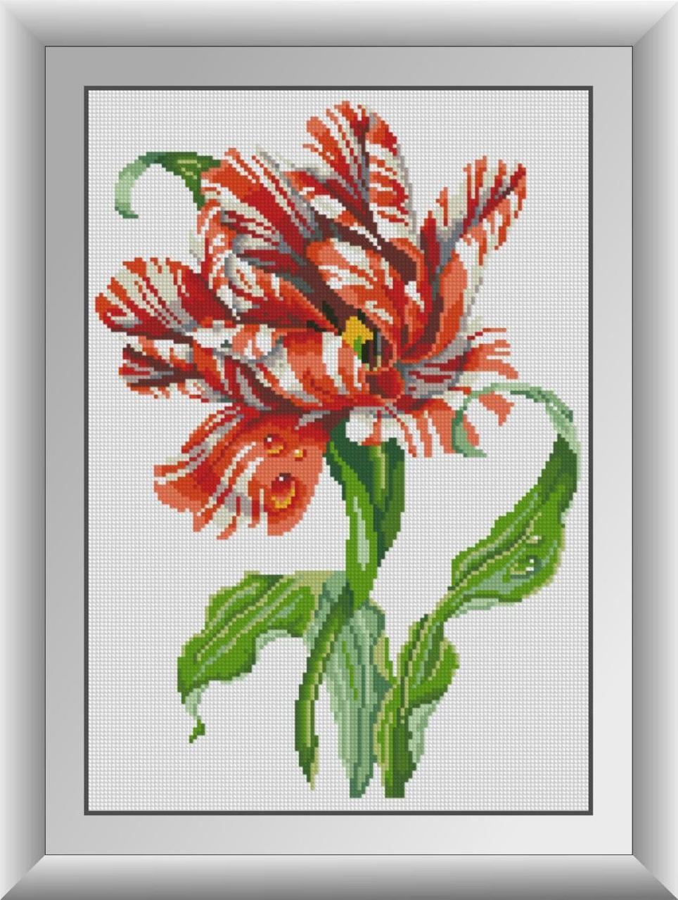 30276 Набор алмазной мозаики Тигровый тюльпан