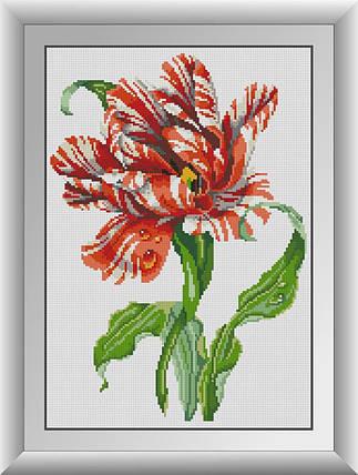 30276 Набор алмазной мозаики Тигровый тюльпан, фото 2