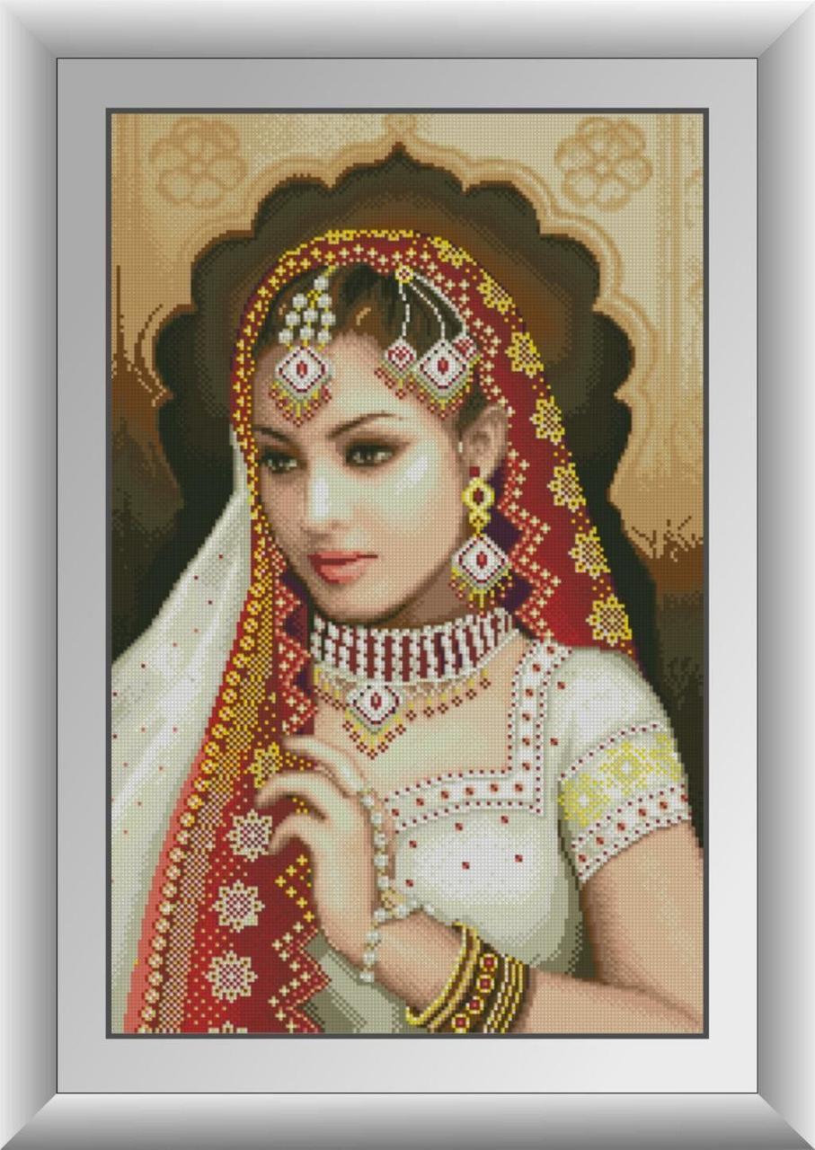 30299 Набор алмазной мозаики Индианка