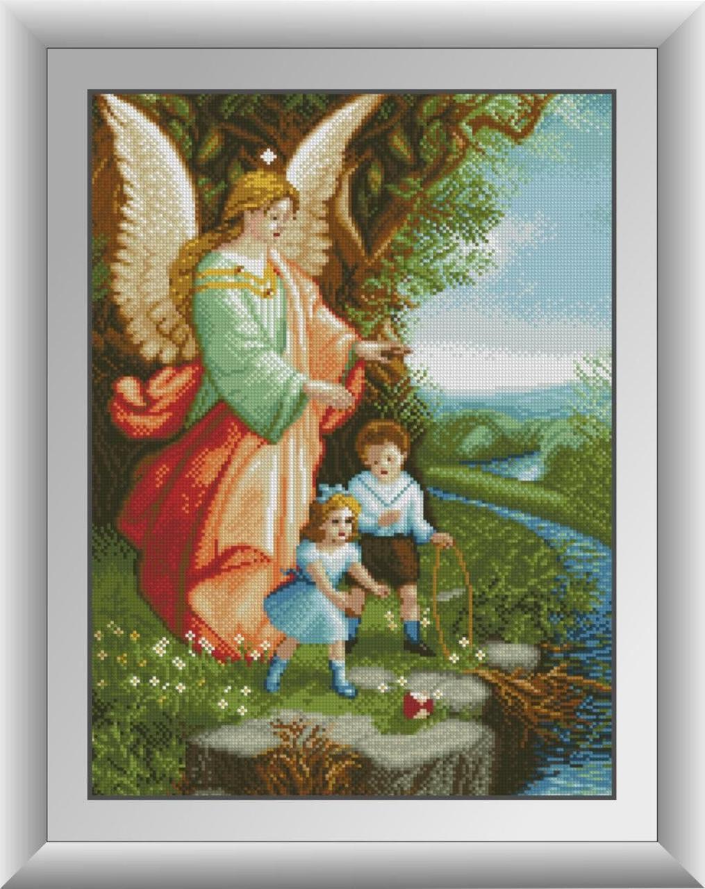30300 Набор алмазной мозаики Ангел Хранитель