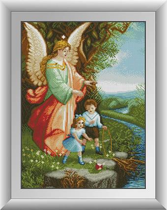 30300 Набор алмазной мозаики Ангел Хранитель, фото 2