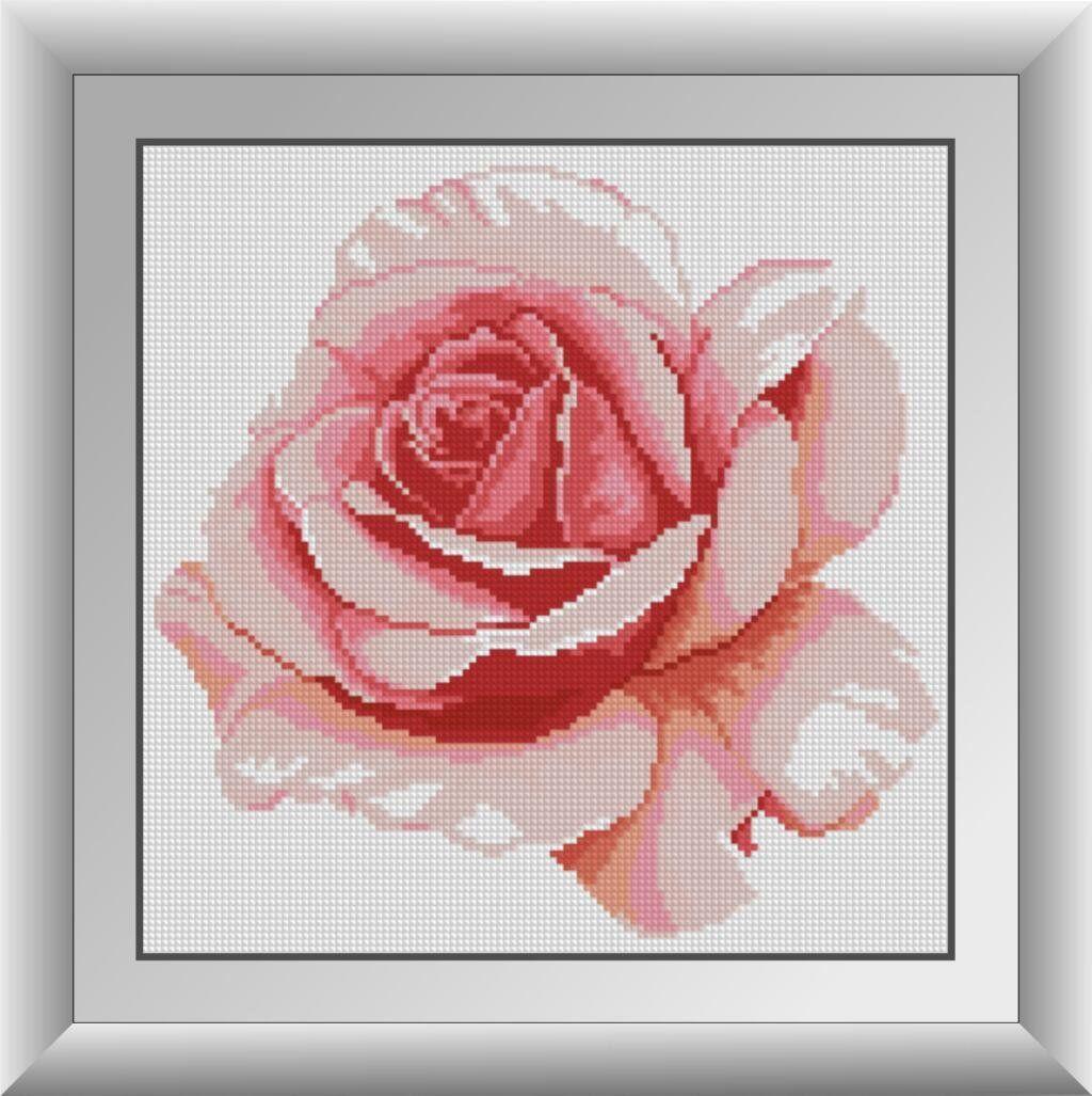 30310 Набор алмазной мозаики Роза
