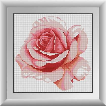 30310 Набор алмазной мозаики Роза, фото 2