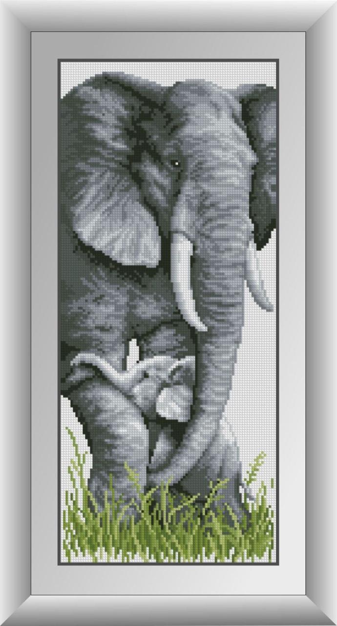30312 Набор алмазной мозаики Слоны